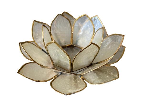 Lotus sfeerlicht wit
